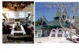 Basyafa di Makam Syech Burhanuddin Pariaman