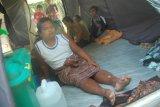Derita Pengungsi Lubuk Laweh Angin dan Hujan Pun Jadi Hantu Ganas