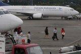Garuda imbau penumpang perhatikan izin masuk DKI Jakarta