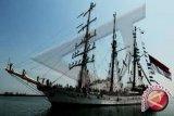 KRI Dewaruci kembali berlayar, spesial untuk HUT Kemerdekaan