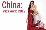 China Sabet Miss World 2012