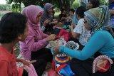 Belajar merajut di komunitas Palembang