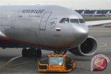 Pesawat Aeroflot ke Bali, Minggu, untuk evakuasi warga Rusia