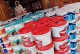 Jelang Lebaran, permintaan cat di Palembang meningkat