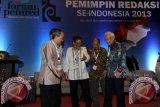 Forum Pemred kukuhkan pengurus baru 2013-2015