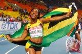 Sprinter Jamaika Fraser-Pryce raih gelar juara dunia keempat 100 meter