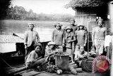 Foto Peristiwa Abad XVII Suku Dayak Dipamerkan