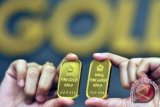Emas berjangka naik didukung pelemahan dolar AS