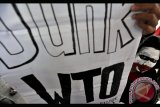 TOLAK PERTEMUAN WTO