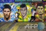 Mantan timnas Brasil ini akui lebih baik dari Neymar, Messi dan Ronaldo