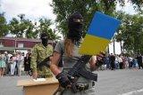 Rusia peringatkan  konflik baru Donbass dapat 'hancurkan' Ukraina