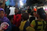 Pengunjung Pasar Senggol Makassar Raya diatur satu arah agar tidak berkerumun