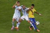 Laga Brazil vs Argentina  akan  disaksikan  langsung 12 ribu suporter