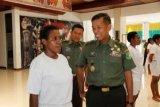 Seleksi Caba PK TNI AD Wanita