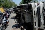 Polri selidiki kelalaian kasus truk terguling menewaskan enam orang