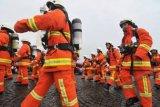Personel Damkar se-DIY adu ketangkasan penanggulangan kebakaran