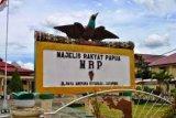 Gedung Majelis Rakyat Papua dibakar