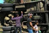 Bus ALS Jurusan Medan -Bukittingi Rebah di Palupuah