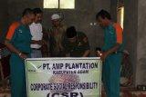 AMP Plantation Bantu Penerangan Warga Palembayan