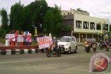 Suasana Kota Sampit Masih Lengang