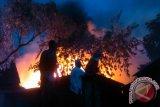 Rumah Dekat Depo Pertamina Ampenan Terbakar