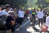 Antusiasme Warga Bogor Sapa Presiden Jokowi