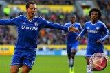 Chelsea di puncak klasemen unggul 13 angka