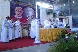 Pastor Heribertus Merung MSC rayakan 50 tahun Imamat