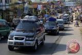 Arus Mudik Jalur Selatan Jateng Rami Lancar