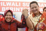 Soekarwo Harap  Abror-Haries Bisa Kalahkan Risma- Whisnu di Pilkada Surabaya
