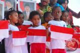 Ribuan pelajar Papua jalan santai peringati HAN 2015