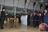 Bupati Barito Utara Lantik 145 Pejabat