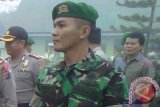 TNI Bantu Padamkan Kebakaran Lahan di Kotim