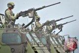 Gladi HUT Ke-70 TNI