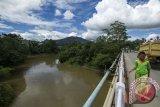 Perbatasan Indonesia-Malaysia diterjang banjir bandang