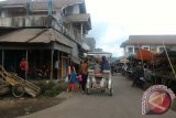 Aktivitas Pasar Langowan Belum Terpengaruh Semburan Debu Vulkanik