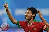 Evan Dimas tiba di Kuala Lumpur Jumat petang