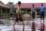 Banjir Rendam Rumah 122 KK di Gandang Barat Pulang Pisau
