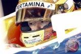 Rio Haryanto Saat Tes F1 Catalunya