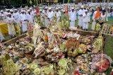 Umat Hindu Bali Gelar Ritual Tawur Kesanga
