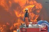 198 Kios Pasar Karangpandan Hangus Terbakar