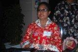 Menteri Yohana Yembise hadiri peringatan HAN di Biak