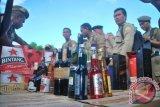 Tim gabungan Papua sita ribuan botol minuman beralkohol