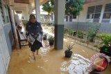 Sejumlah ruas jalan di Padang tergenang banjir