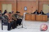 Pimpinan DPRD Musi Banyuasin divonis lebih ringan dari tuntutan jaksa