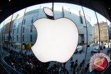 Anjloknya saham Apple sebabkan penurunan tajam Wall Street
