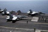 Dua Jet Tempur AS Tabrakan di Lepas Pantai Carolina Utara