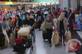 Belum terjadi lonjakan penumpang terminal bus Palembang