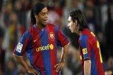Ronaldinho: Messi tetap yang terbaik