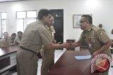 Dinas PU Barito Utara Sertijab Pejabat Eselon III dan IV